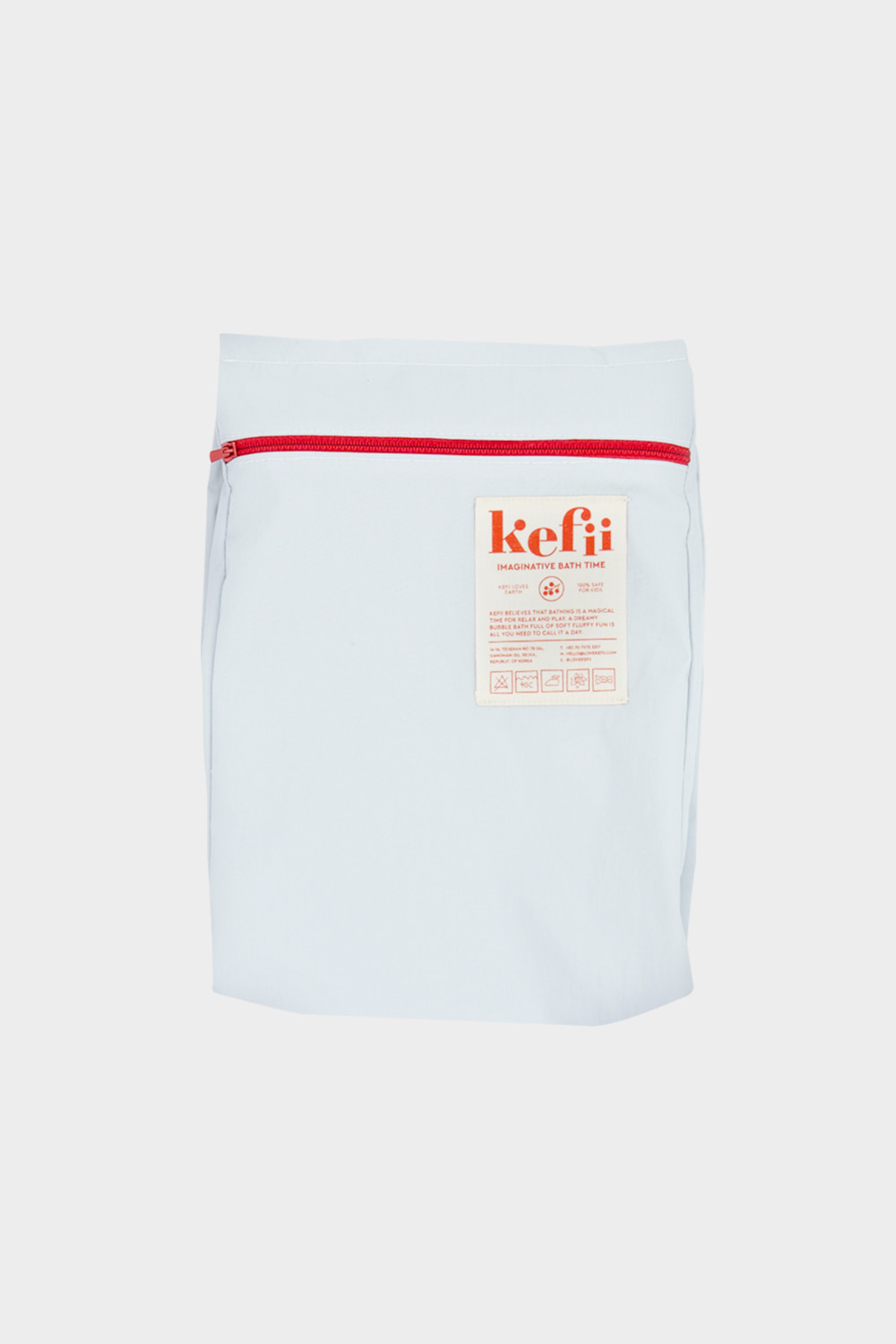 Bath Travel Bag - Red Tip